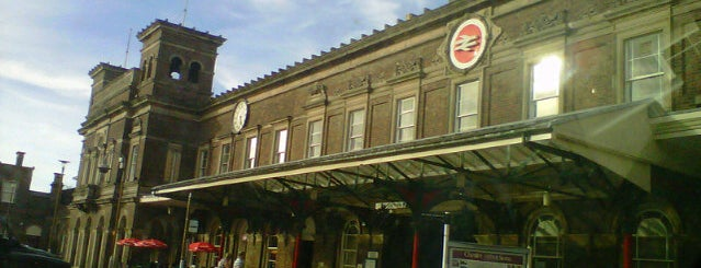 Chester Railway Station (CTR) is one of Railway Stations in UK.