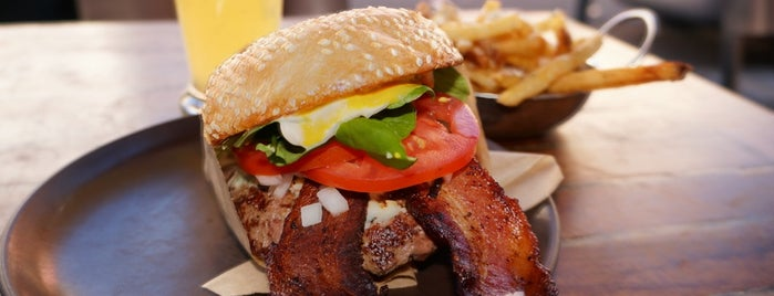Roam Artisan Burgers is one of Bay Area Burgers.