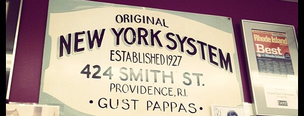 Original New York System is one of Providence, RI.