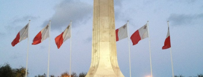War Memorial is one of Malta Cultural Spots.