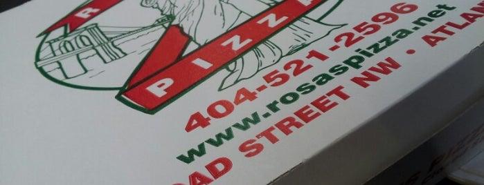 Rosa's Pizza is one of Dining Tips at Restaurant.com Atlanta Restaurants.