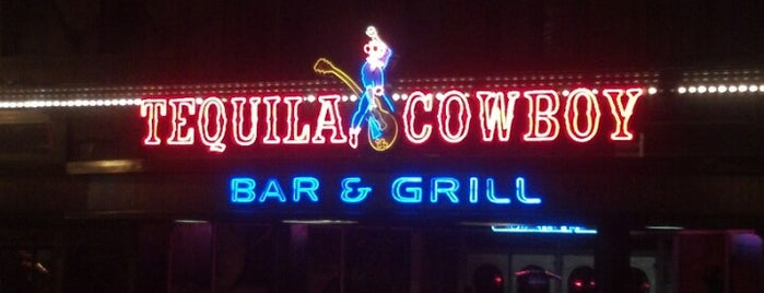 Tequila Cowboy is one of To Do Nashville TN.