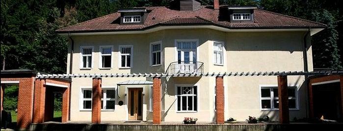 Baťova vila is one of Baťa ve Zlíně.