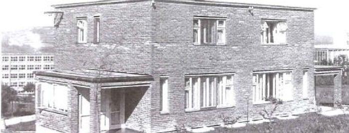 Vzorovy rodinny dum - typ Vitek is one of Baťa ve Zlíně.