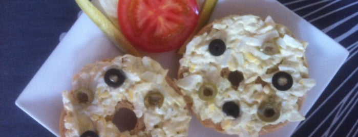 """HH Gourmet """"Bagels & More"""" is one of Yet to try list (Shenzhen)."""