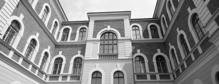 NYME-AMI (Alkalmazott Művészeti Intézet) is one of _.