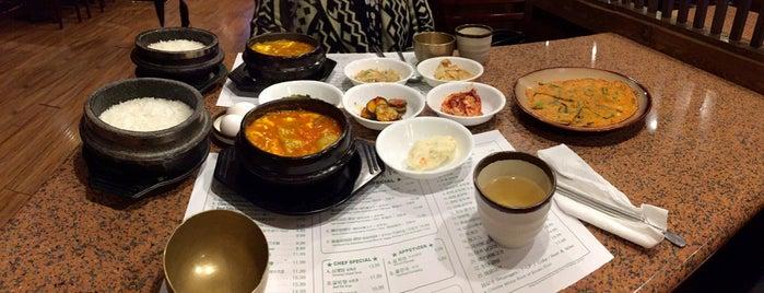 Cho Dang Tofu Restaurant is one of I'm a regular.