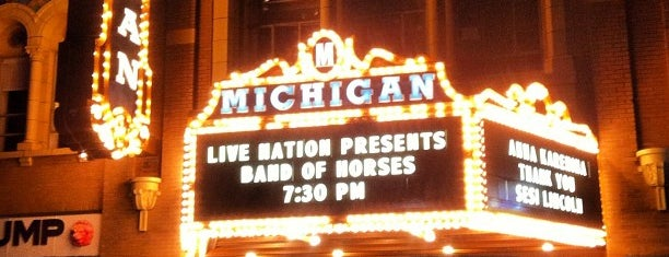 Michigan Theater is one of Best Live Venues in Washtenaw.