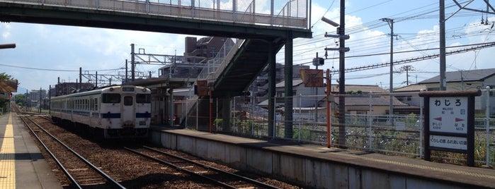 Wajiro Station is one of JR.