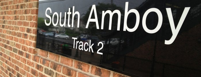 NJT - South Amboy Station (NJCL) is one of New York.