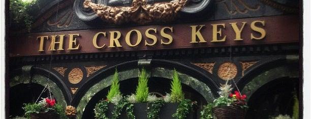 The Cross Keys is one of Drinking London.
