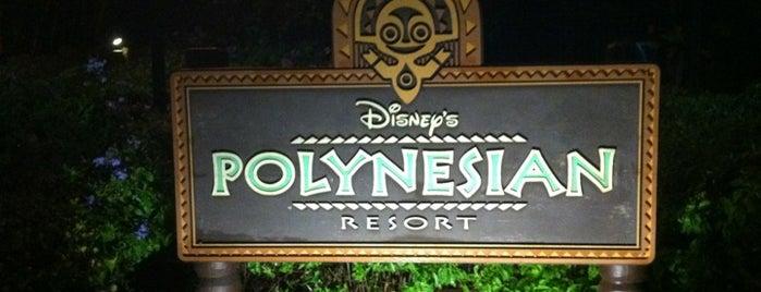 Disney's Polynesian Village Resort is one of Disney Spots.