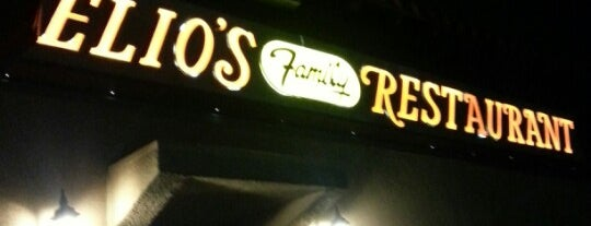 Elios Family Restaurant is one of 20 favorite restaurants.