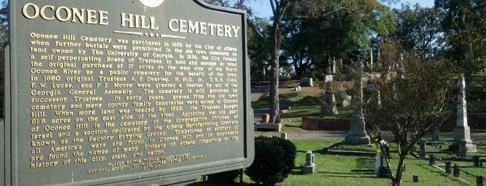 Civil War Cemeteries in Georgia
