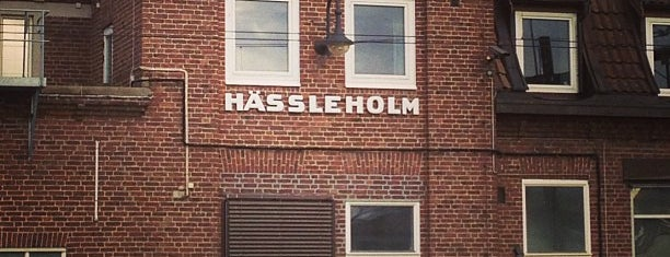 Hässleholms Centralstation is one of Tågstationer - Sverige.