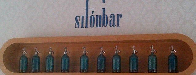 SifónBar is one of hamburguesas y asi.