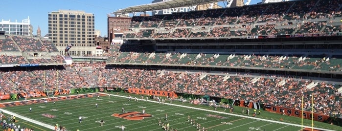 Paul Brown Stadium is one of NFL STADIUMS IVE BEEN TO.
