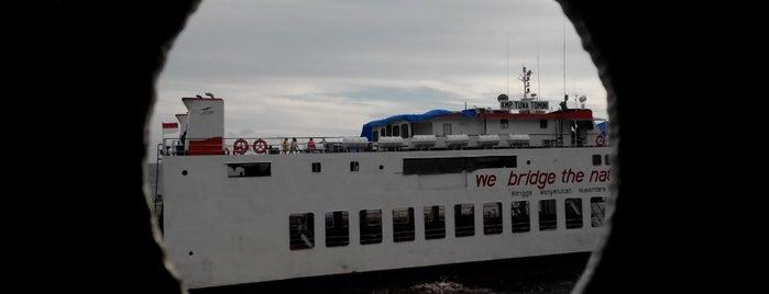 Pelabuhan penyeberangan gorontalo is one of i was there.