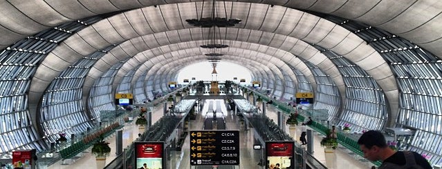 Suvarnabhumi Airport (BKK) is one of ?8.