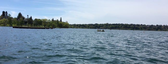 Green Lake Boathouse is one of Seattle Destinations.