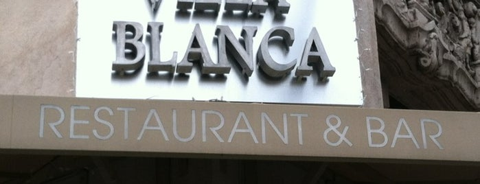 Villa Blanca is one of New restaurants LA.
