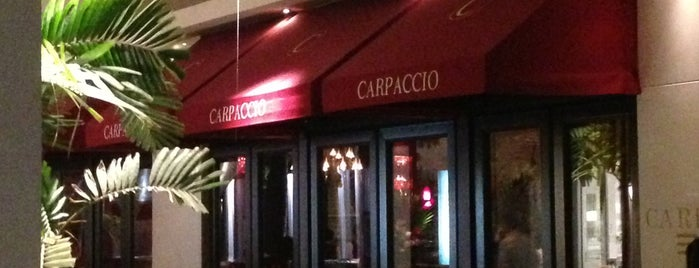 Carpaccio is one of 20 Favorite Restaurants.