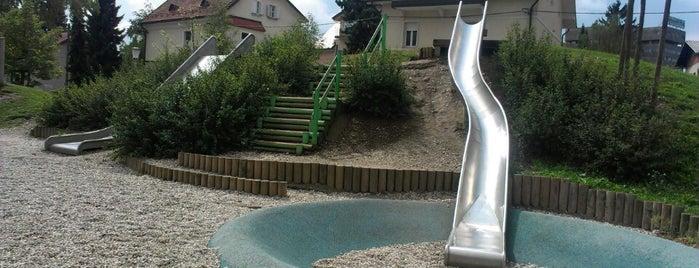 Igrišče Zupančičeva jama is one of Favorite Great Outdoors.