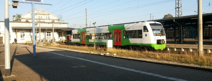 Bahnhof Leinefelde is one of Bahnhöfe DB.