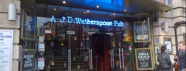 The Metropolitan Bar (Wetherspoon) is one of All-time favorites in United Kingdom.