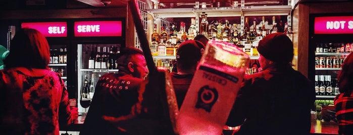Genuine Liquorette is one of Breather + Foursquare Guide to SoHo.