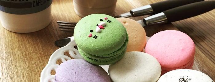 엠꼼마카롱 is one of Cafe & Bakery.