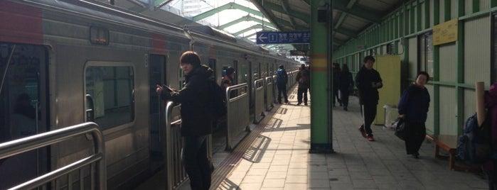 녹천역 (Nokcheon Stn.) is one of Subway Stations in Seoul(line1~4 & DX).
