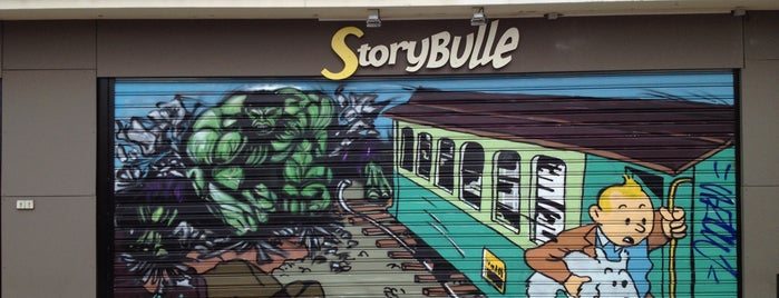 Storybulle is one of Montreuil.