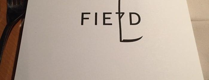 FIELD Restaurant is one of Restaurace.