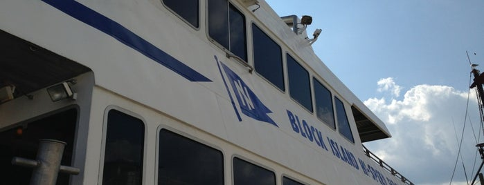 The Block Island Ferry is one of ** my list **.