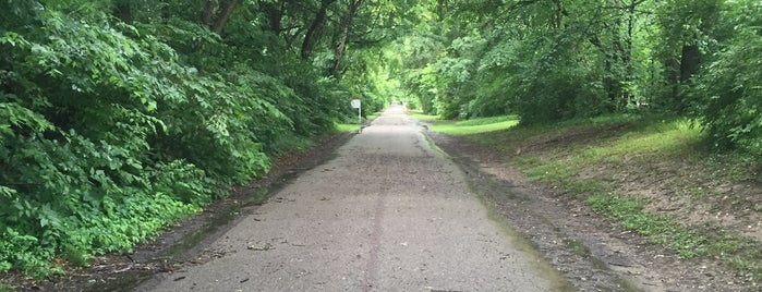 Monon Trail At 54th is one of To SU.