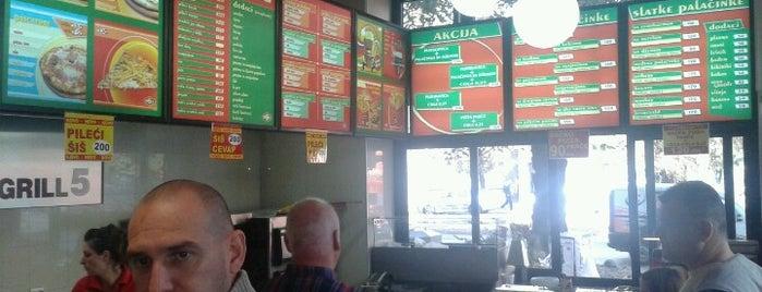 Grill 5 is one of Restoran-kriticar.com.