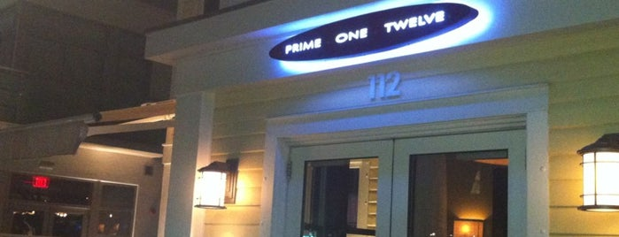 Prime One Twelve is one of 20 Favorite Restaurants.