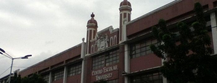 Centro Escolar University is one of Best School and Universities.