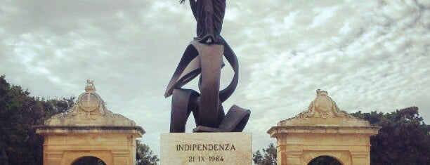 Indipendenza Monument is one of Malta Cultural Spots.
