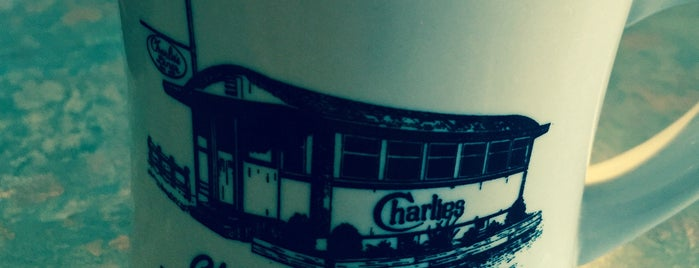 Charlie's Diner is one of Diners, Drive-Ins & Dives.