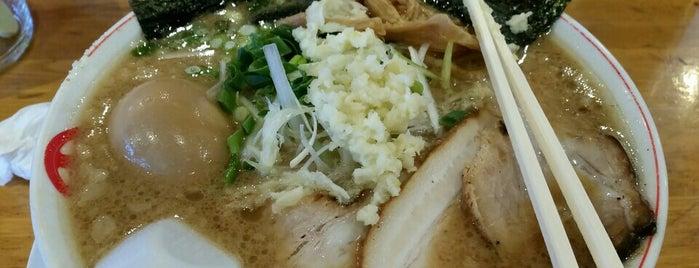 完熟らーめん本丸 二本松店 is one of The 麺.