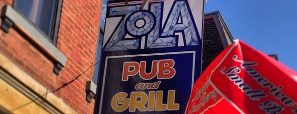 Zola's Bar and Grill is one of New Places To Try.