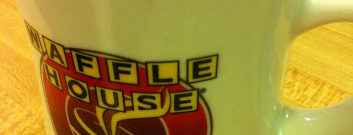 Waffle House is one of Frequent Stops.