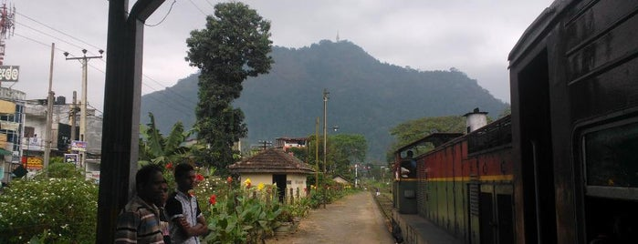 Gampola Railway Station is one of Railway Stations In Sri Lanka.