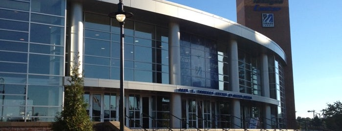 Tsongas Center at UMass Lowell is one of 2012-13 Merrimack College Hockey Road Trips.