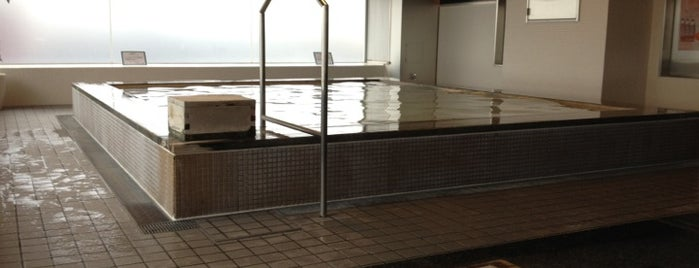 Times SPA RESTA is one of Tokyo Onsen.