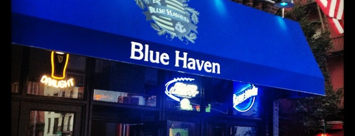 Blue Haven is one of Bars.