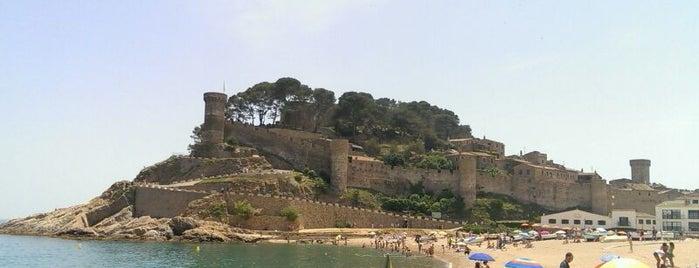 Tossa de Mar is one of Sota el cel.