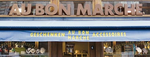 Au Bon Marche is one of CityZine Gent Clothing.